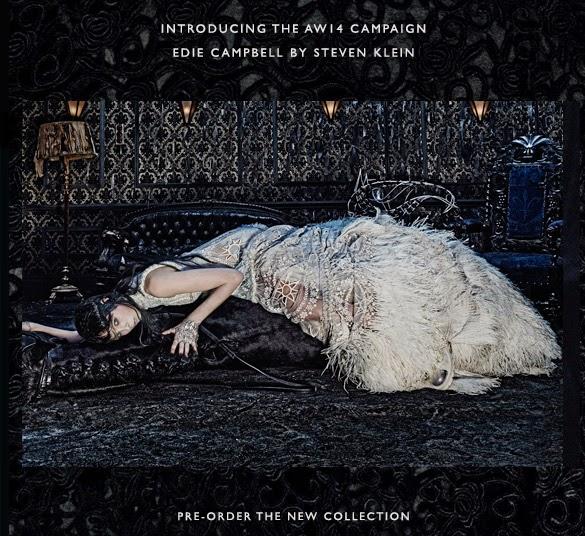 Alexander McQueen AW14 Campaign