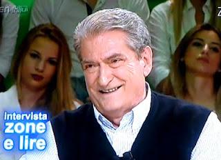 """Sali Berisha ne """"Zone e Lire"""""""