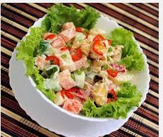 Resep Memasak Salad Ayam Oriental | Langsing Cantik dan Sehat