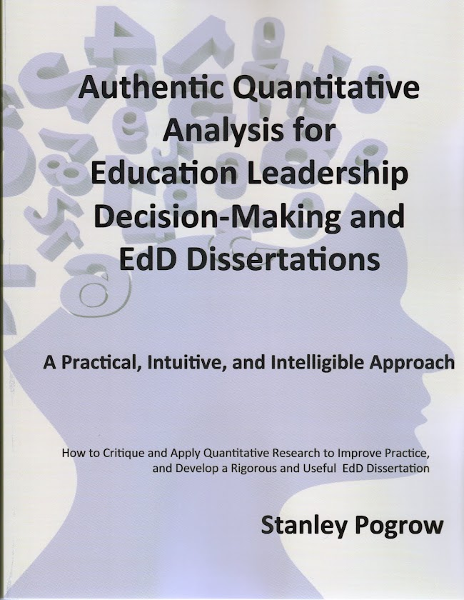 Authentic Quantitative Analysis for Education Leadership Decision-Making and EdD Dissertations