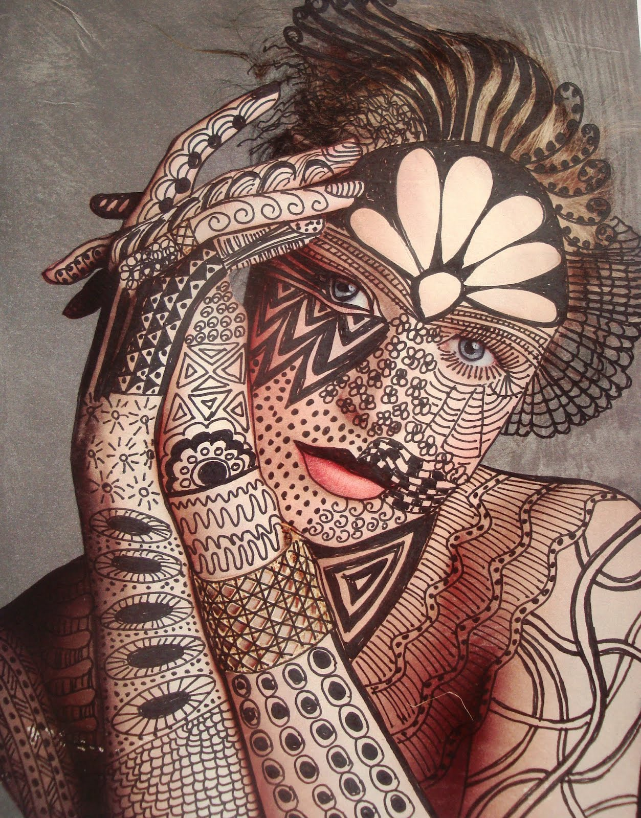 top zentangle owl tattoo images for pinterest tattoos. Black Bedroom Furniture Sets. Home Design Ideas