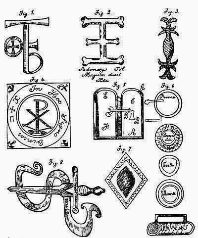 """""""El Enchiridión"""" (s. IX) Colección antigua de bellas máximas bíblicas con sagradas invocaciones"""