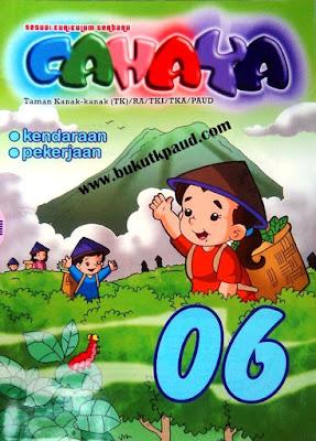 majalah RA TK islam Cahaya ardian jaya mandiri