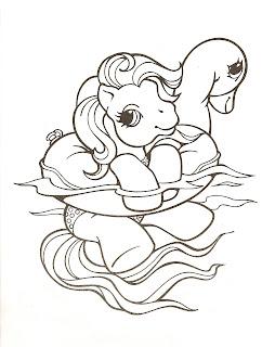 dibujos para colorear, mi pequeño pony para colorear