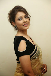 Actress Madhu Shalini Latest Pictures in Saree at Seethavalokanam Press Meet  047.jpg