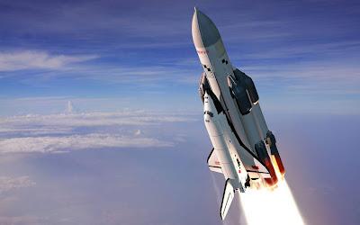 Top space rocket wallpaper 2012