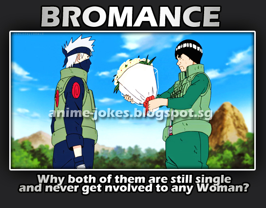 Bromance In Naruto Anime Jokes Collection