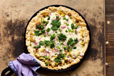 breakfast pizza chorizo jalapeño
