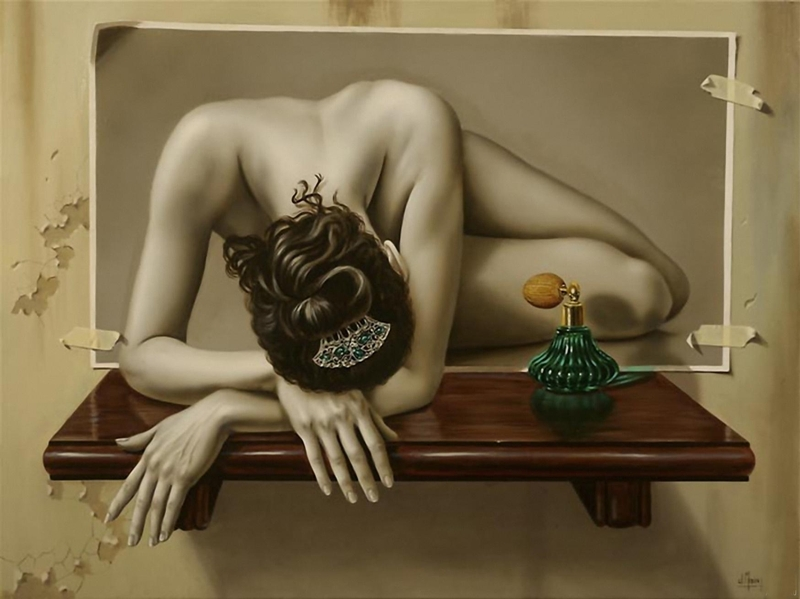 Juan Medina 1950 | Mexican Surreal Hyperrealist painter