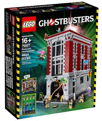 TOYS : JUGUETES - LEGO Ghostbusters : Cazafantasmas  75827 Base de la Estación de Bomberos  Firehouse Headquarters  Producto Oficial 2016 | Piezas: 4634 | Edad: +16 años  Comprar en Amazon España & buy Amazon USA