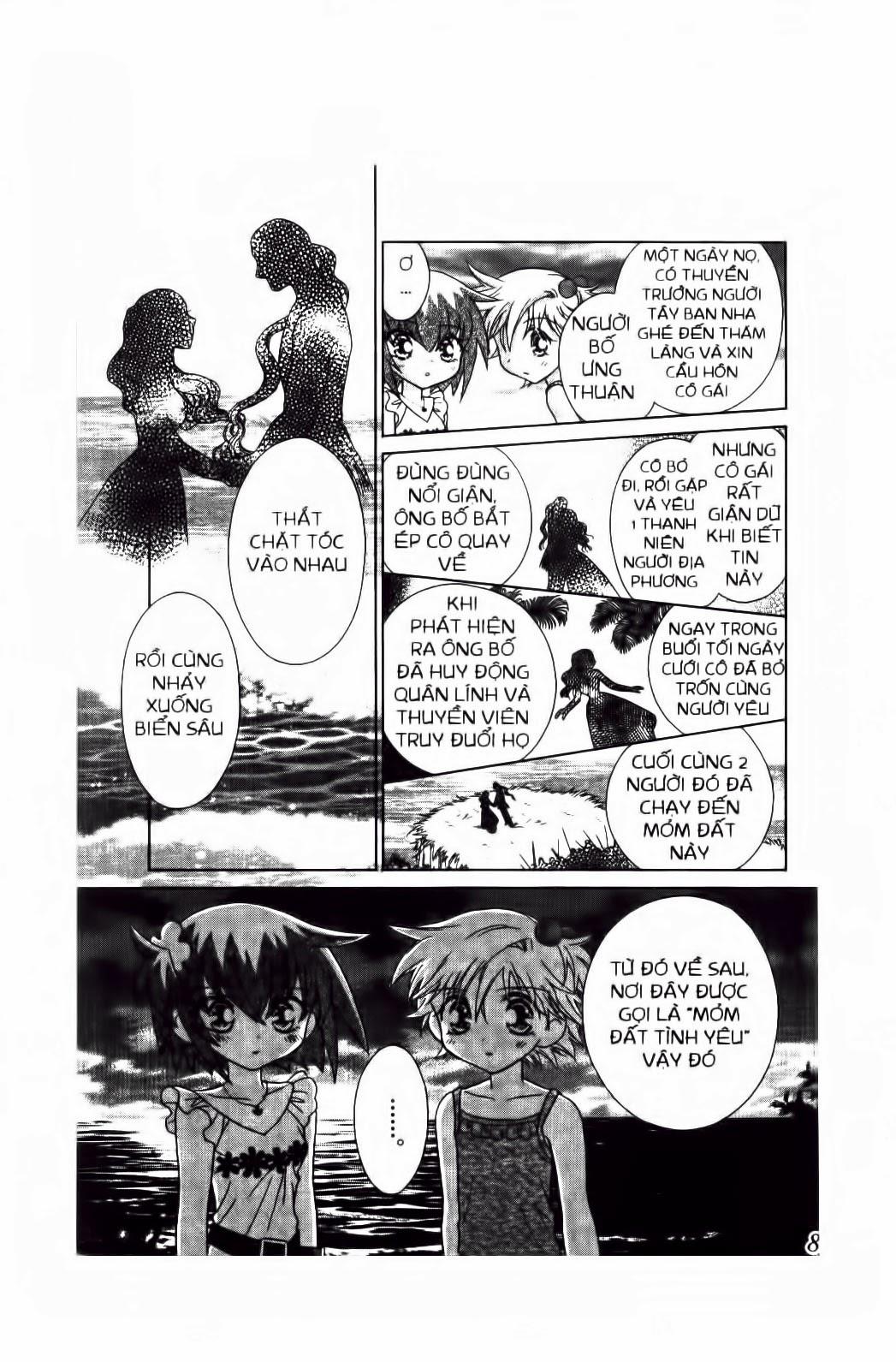 Chắp Cánh ước Mơ chap 55 - Trang 10