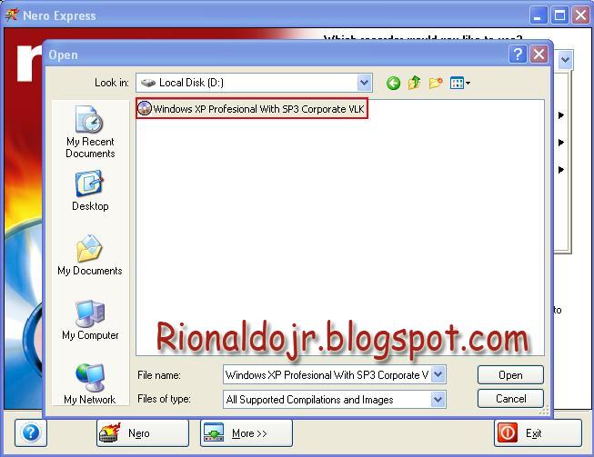Cara Membuat CD/DVD Windows 7 / XP Bootable Dari File .iso
