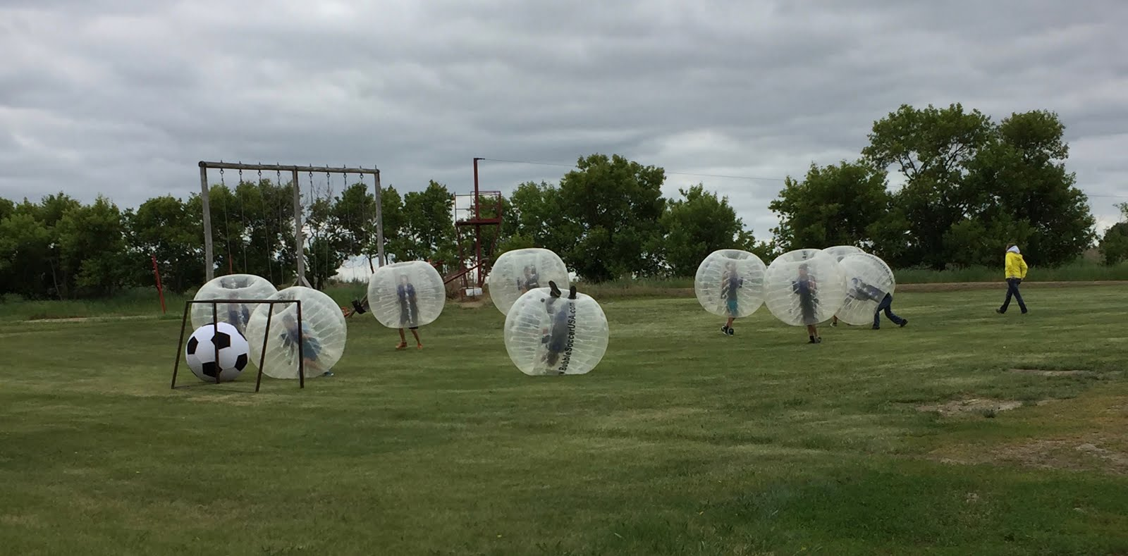 Bubble Soccer (ages 9yrs+)