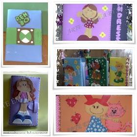 capas de caderno