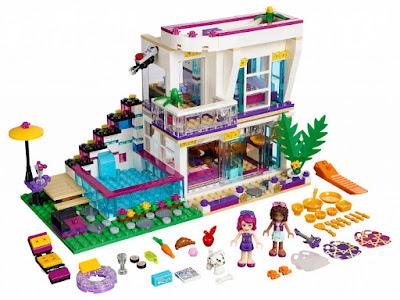 TOYS : JUGUETES - LEGO Friends  41135 Estrella del Pop : Casa de Livi  Livi's Pop Star House  Producto Oficial 2016 | Piezas: 597 | Edad: 7-12 años  Comprar en Amazon España & buy Amazon USA