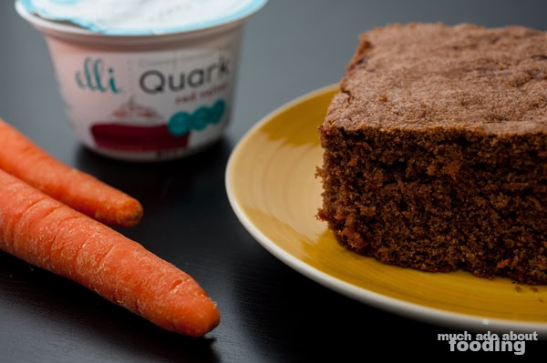 Recipe - Cocoa Carrot Cake | Much Ado About Fooding