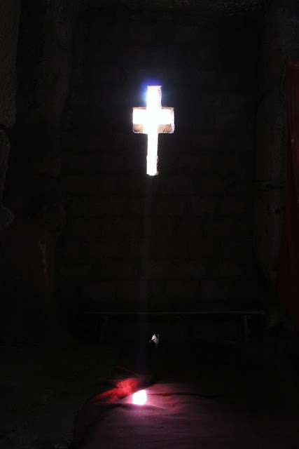 Lalibela church cross