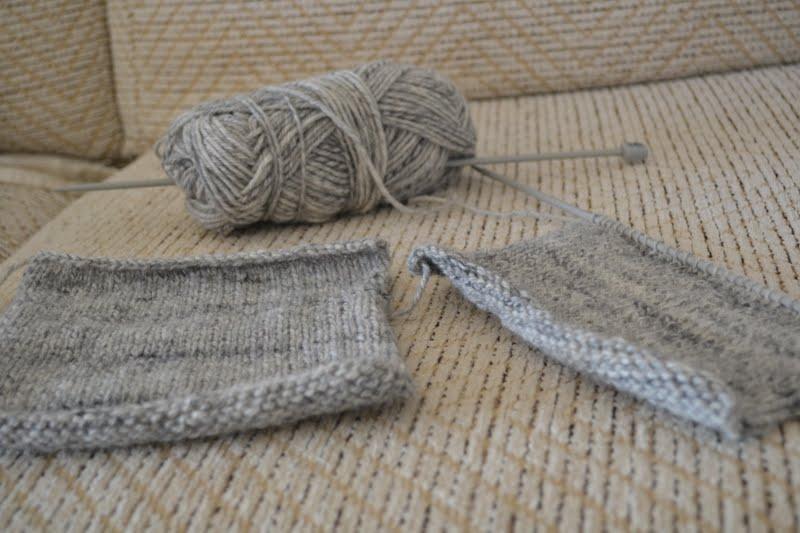 Project 365 #217 - Knitting lesson with mothership - SUNSHINE SAM