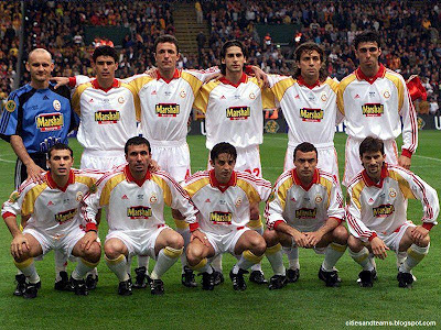 17 May 2000 Uefa Cup Champion Legendary Team Galatasaray Hd Wallpaper