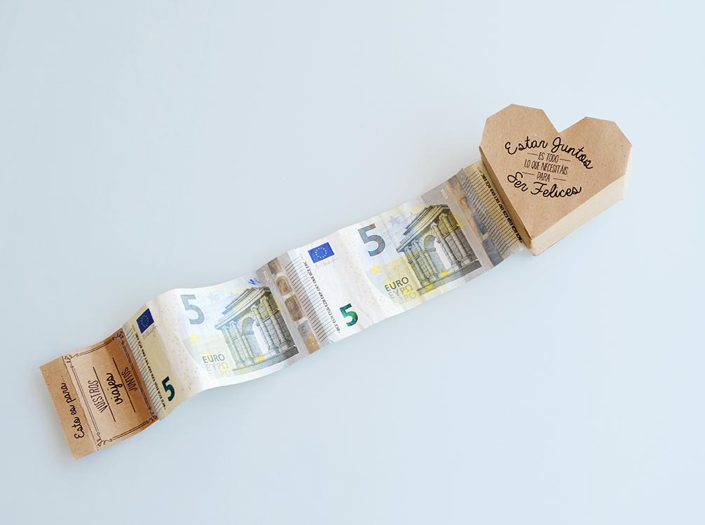 Mama josefa c mo regalar dinero en una boda diy - Ideas para regalar dinero en una boda ...