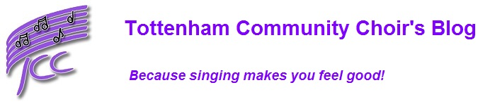 The Tottenham Community Choir blog