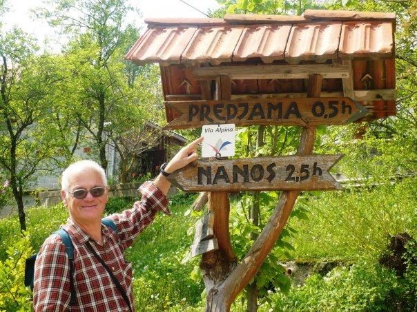 Andar per campeggi - 5.a tappa: Traversata in visita dei paesi ai piedi del monte Nanos