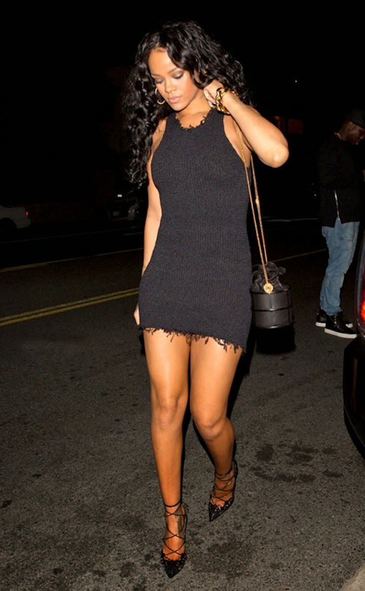Rihanna in Celine