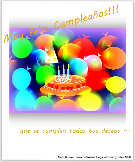 tarjetas cumpleaños fiesta globos festejos