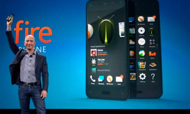 Amazon presenta el Fire Phone, su primer Smartphone Android