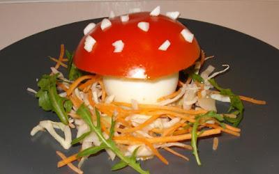 drôle de champignon !