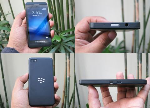 BlackBerry Z10 Smartphone Photos Black