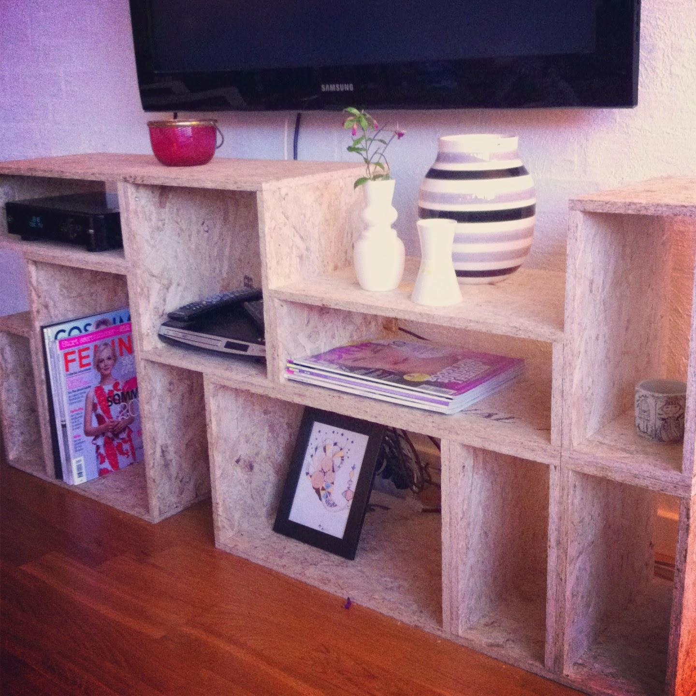 ibsens tv m bel i osb plader. Black Bedroom Furniture Sets. Home Design Ideas
