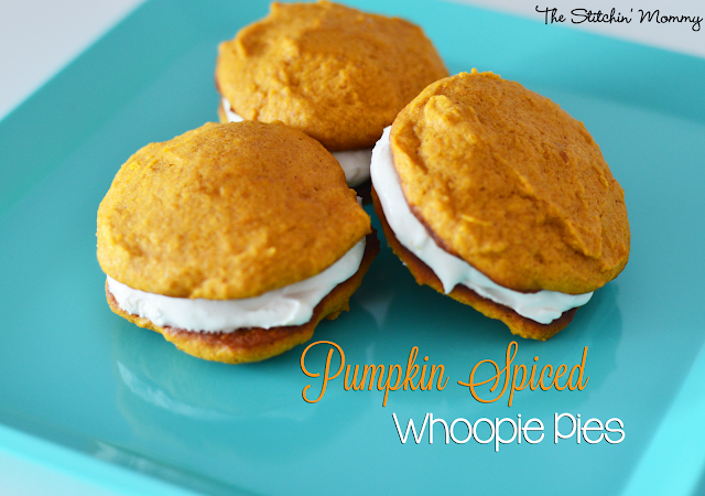 Pumpkin Spice Whoopie Pies by The Stitchin' Mommy