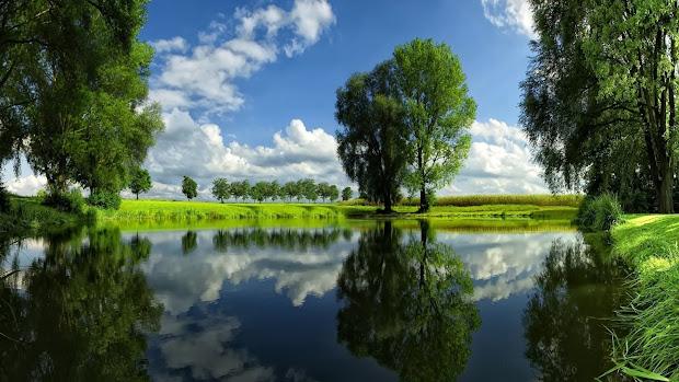 nice water landscape mystery