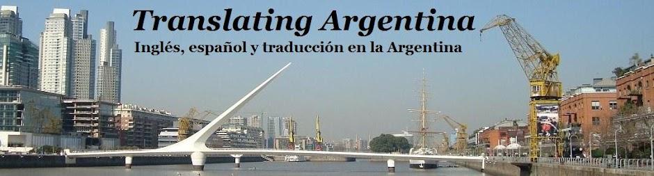 Translating Argentina