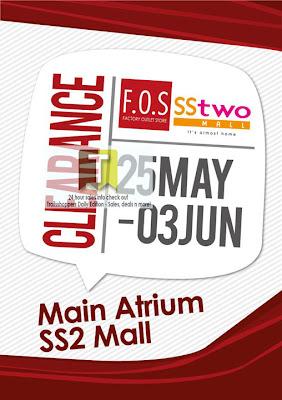 F.O.S Clearance Sale Selangor 2012