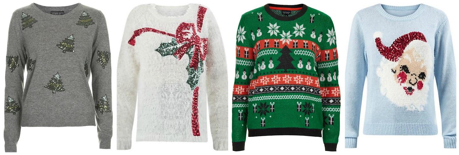 Christmas jumpers wishlist 2014, blogger, Primark, Topshop, Debenhams, New Look