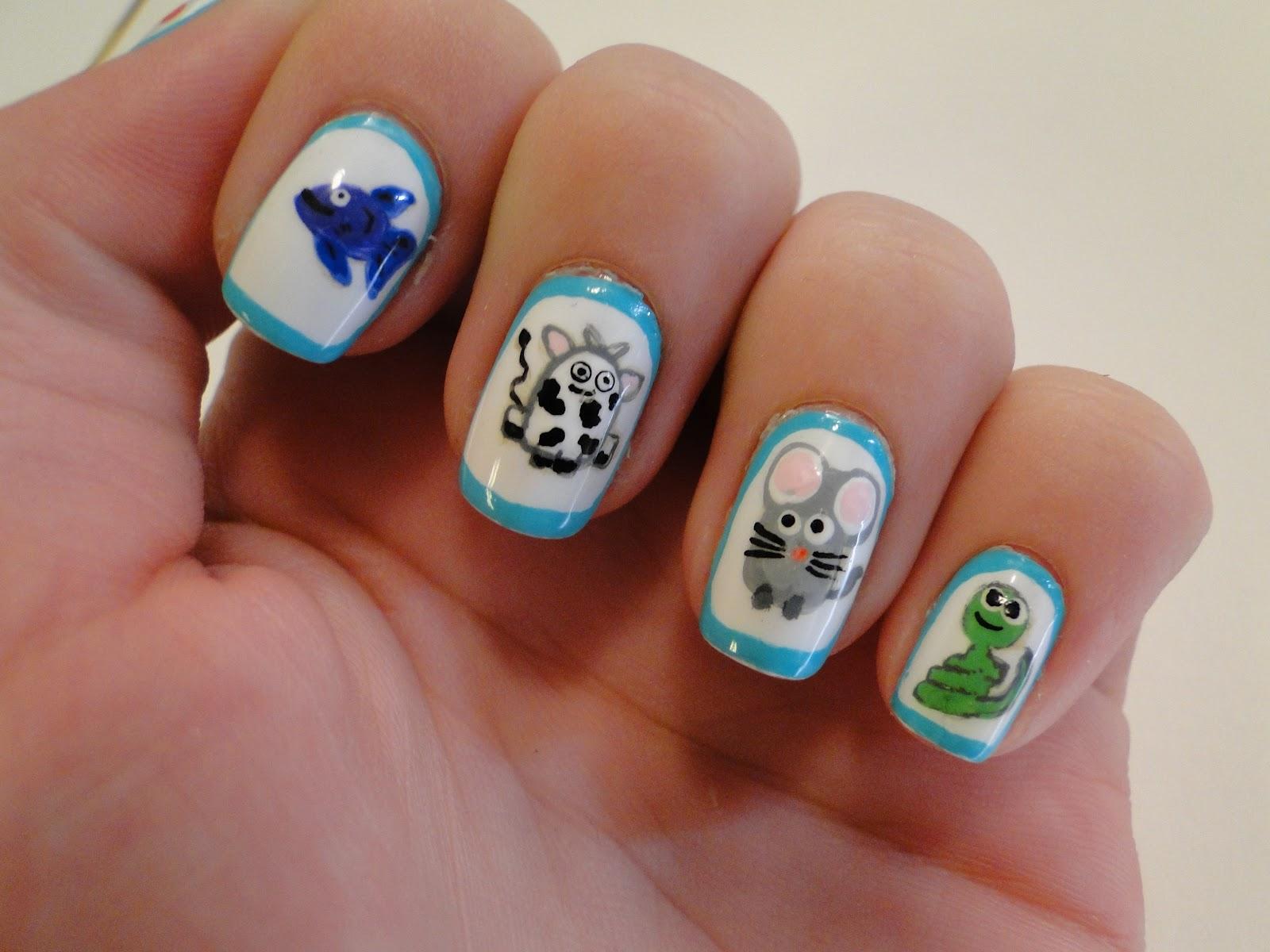 Weeklywackynails Animal Nail Art