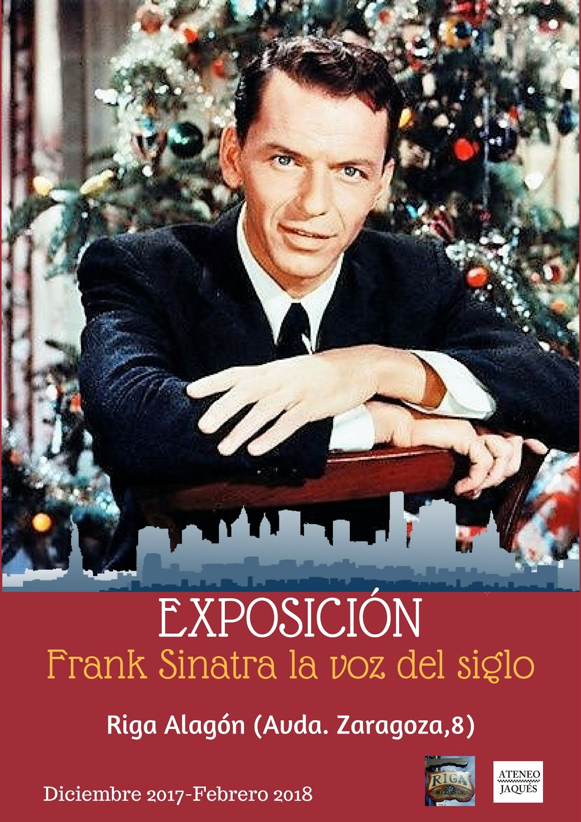 """ALAGÓN (ZARAGOZA): EXPOSICIÓN """"FRANK SINATRA LA VOZ DEL SIGLO"""""""