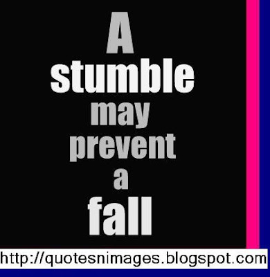 a stumble may prevent a fall essay Falls, fall-related injury and fear of falling are important public health problems in an ageing society, learn about prevention of falls in the elderly.