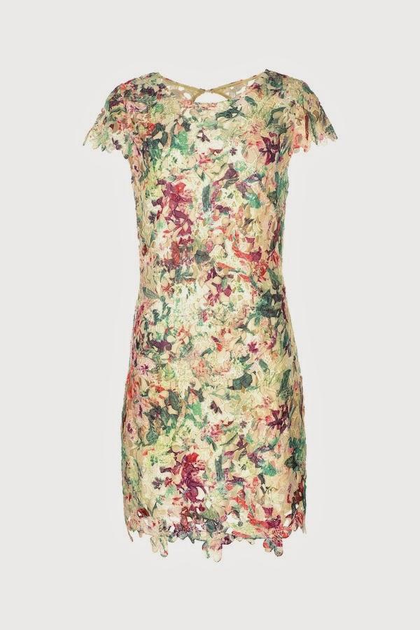 Φορεμα δαντελα φλοραλ