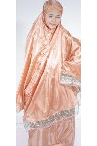 Mukena Abutai 2 - Merah Bata (Toko Jilbab dan Busana Muslimah Terbaru)