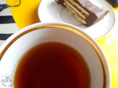 ciastka, żółty, czekolada