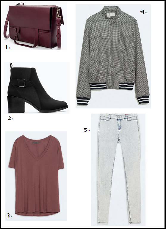 Casual Look for Autumn From ZARA