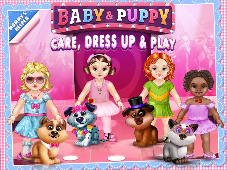 Babies & Puppies - Care, Dress Up & Play App iTunes Google Play App By TabTale LTD - FreeApps.ws