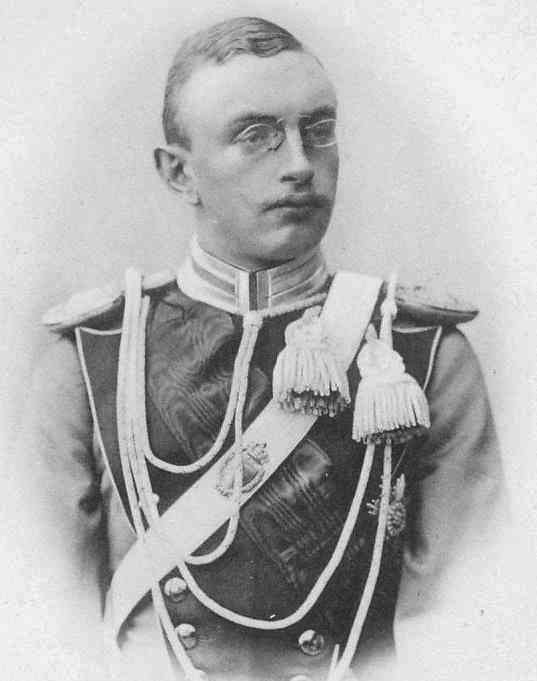 Prince Albert de Saxe 1875-1900