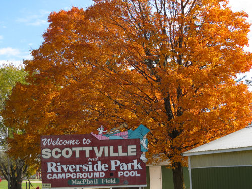Scottville sign