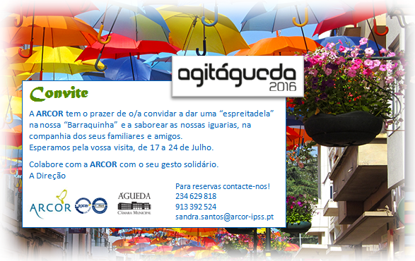 ARCOR COM BARRACA NO AGITAGUEDA 2016