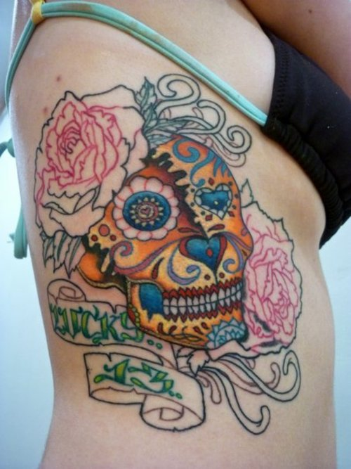 Girls Skull Tattoo Fashion Trends Styles Tattoos