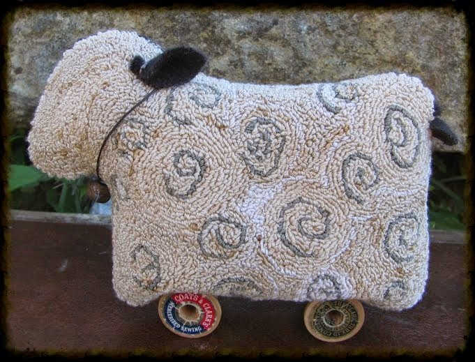 ~*Willie the Sheep*~ Needlepunch ePattern